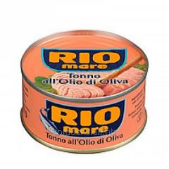 Tuna in the olive oil Rafinate RioMare of 80 g