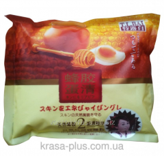 Dry face pack with propolis and egg from wrinkles