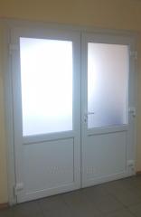 Металлопластиковые двери офисные Classic 1800х2100