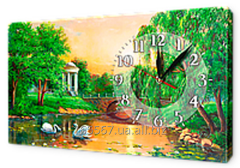 Hours on a canvas 30 x 53 cm of K133