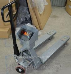Scales the cart - hydraulic Rokla