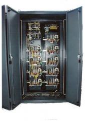 TSA-250 control panel