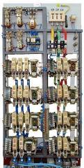 DTA-161 control panels