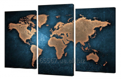 Picture modular 285th world map