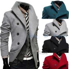 Мужское пальто с длинным рукавом
