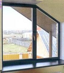 Окно Elite для коттеджей и частных домов нестандартное 1470х1445