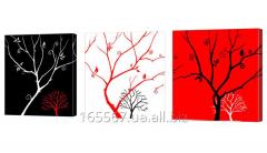Картина модульная 228 деревья
