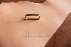 Brass loop (trenchik) for a belt of 30 mm. Article