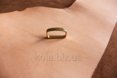 Brass loop (trenchik) for a belt of 25 mm. Article