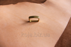 Brass loop (trenchik) for a belt of 20 mm. Article
