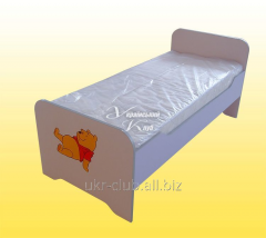 Bed children's without mattress
