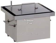 The smoking shed with KP-G-2-250h250h240 hydrolock