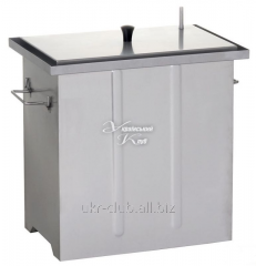 The smoking shed with KP-G-5 hydrolock -