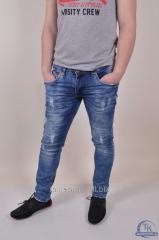 Джинсы мужские стрейчевые (Slim Fit) DA MARIO 1034
