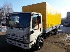 Truck of ISUZU NPR 75L-K/M board awning