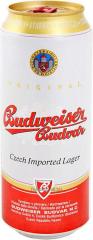 Czech Budweiser beer