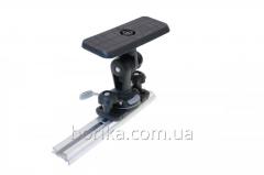 Площадка для эхолота и другого оборудования 164*68 мм с набором для установки на С-образный профиль (SSt223+FFr222)