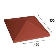 Крышка столба (крышка на забор) 450 * 450