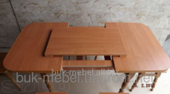 Стол кухонный раздвижной (каркас - ясень)