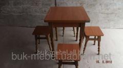 Стол кухонный раскладной (каркас - ясень)