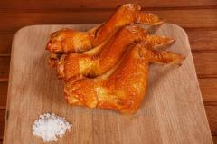 Boiled and smoked Chicken Wing