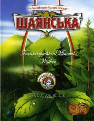 M_neralna Shayanska water