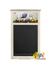 Slate and magnetic board Provence