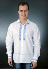 Безупречная классическая вышитая рубашка для