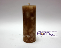 The candle is aromatic, diameter is 50 mm
