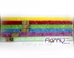 Candle Prism of marble 25*400, 170 grams