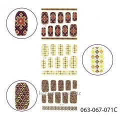 3D stickers for design of nails. Stick-SA-3D