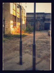 Lighting support telescopic (tubular)