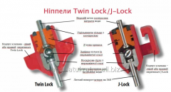 Nipples for broilers of TWIN-LOCK, J-LOCK