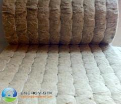 Basalt proshivny a mat of M-80 BO without facing,