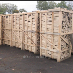 Firewood the packed dry 25%