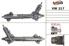 Steering rack since / At the restored MERCEDES