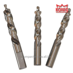 Drills of threefold drilling under the handle for