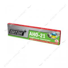 Электроды 'Патон' АНО-21 3,  0 мм,  5 кг....