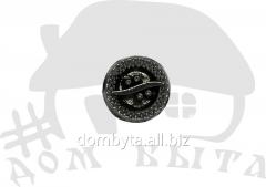 Ornament round 013047 dark nickel
