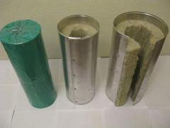 Теплоизоляционные цилиндры и полуцилиндры