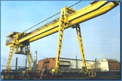 Bridge clamshell overloaders