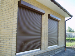 Protective rolleta (rolling shutters)