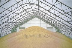 Bunkers for grain storage