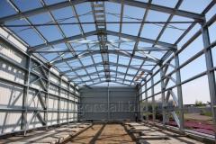 The fast-built metalframe industrial buildings