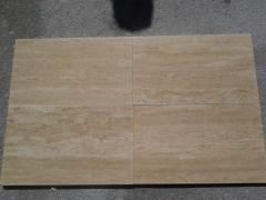 Travertine, tile from travertine