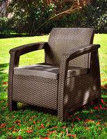 Corfu Duo chair brown
