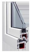Окна Металлопластиковые из профиля Windoff's