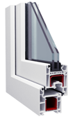 Окна Металлопластиковые Salamander 2D (пластиковых окон, производство окон, окно, металлопластиковые окна)