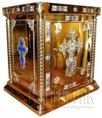 Altar folding (damask steel)