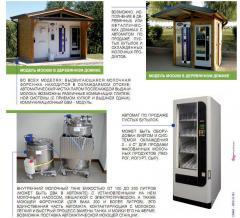 Молочные автоматы, торговые молокоматы